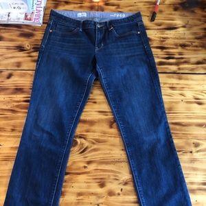 Gap women's straight jeans size 10r